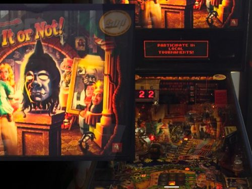 Ripley's Believe it or not Pinball