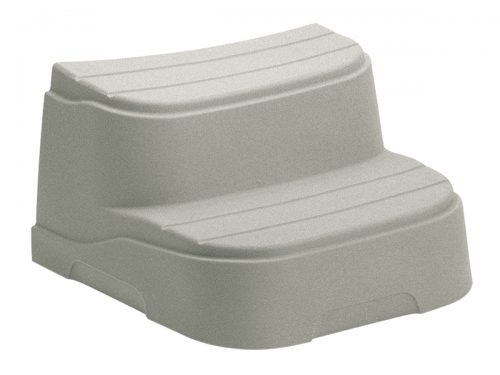 Freeflow Spas® Curved Step